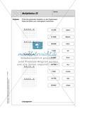 Selbstkontrollaufgaben - Zahlen und Operationen Preview 13