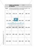 Selbstkontrollaufgaben - Zahlen und Operationen Preview 3