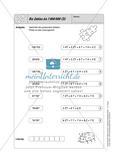 Selbstkontrollaufgaben - Zahlen und Operationen Preview 8