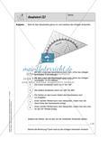 Selbstkontrollaufgaben - Geometrie Preview 10