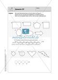 Selbstkontrollaufgaben - Geometrie Preview 6