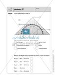 Selbstkontrollaufgaben - Geometrie Preview 9