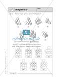 Selbstkontrollaufgaben Mathematik - Raum und Form Preview 12