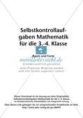 Selbstkontrollaufgaben Mathematik - Raum und Form Preview 2