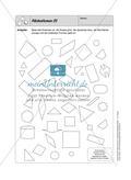 Selbstkontrollaufgaben Mathematik - Raum und Form Preview 3