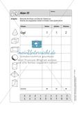 Selbstkontrollaufgaben Mathematik - Raum und Form Preview 5