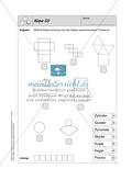 Selbstkontrollaufgaben Mathematik - Raum und Form Preview 6