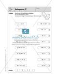 Selbstkontrollaufgaben Mathematik - Gemischte Übungen Preview 9