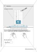 Lerninhalte selbstständig erarbeiten - Zahlraumerweiterung Preview 14