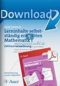 Lerninhalte selbstständig erarbeiten - Zahlraumerweiterung Preview 1