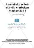 Lerninhalte selbstständig erarbeiten - Zahlraumerweiterung Preview 2