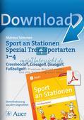 Sport an Stationen Spezial - Crossboccia, Crossgolf, Discogolf, Fußballgolf Preview 1