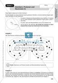 Arbeitsblätter und Schülerexperiment zu Atomen und Molekülen Preview 13