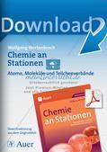 Arbeitsblätter und Schülerexperiment zu Atomen und Molekülen Preview 1