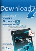 Musik an Stationen: Notenlehre Preview 1