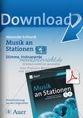 Musik an Stationen: Stimme und Instrumente Preview 1