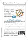 Gesunde Ernährung: Nahrungsbestandteile erforschen Preview 16