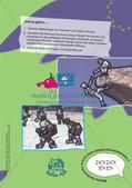 Gestalten im Themenfeld Monster: Linien und Konturen Preview 13