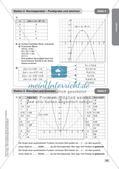 Stationenlernen Mathematik: Quadratische Funktionen Preview 19