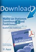Stationenlernen Mathematik: Quadratische Funktionen Preview 1