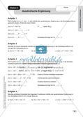 Stationenlernen Mathematik: Quadratische Funktionen Preview 8