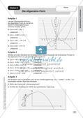 Stationenlernen Mathematik: Quadratische Funktionen Preview 9
