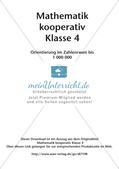 Mathematik kooperativ: Orientierung im Zahlenraum bis 1 000 000 Preview 2