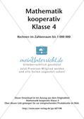 Mathematik kooperativ: Rechnen im Zahlenraum bis 1 000 000 Preview 2