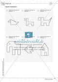 Mathematik kooperativ: Fläche und Umfang Preview 12