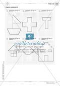 Mathematik kooperativ: Fläche und Umfang Preview 13