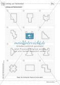 Mathematik kooperativ: Fläche und Umfang Preview 6