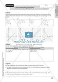 Mathe an Stationen: Lineare Gleichungssysteme Preview 20