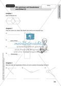 Geometrie an Stationen: Geodreieck und Zirkel Preview 16