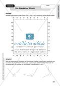 Geometrie an Stationen: Geodreieck und Zirkel Preview 6