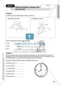 Geometrie an Stationen: Geodreieck und Zirkel Preview 9