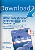 Geometrie an Stationen: Dreiecke Preview 1