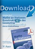 Geometrie an Stationen: Konstruktionen Preview 1