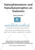 Naturphänomene und Naturkatastrophen an Stationen: Wind und Wetter Preview 2