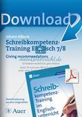 Schreibkompetenz-Training: Writing recommendations Preview 1