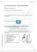 Schreibkompetenz-Training: Writing summaries Preview 5