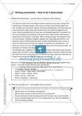Schreibkompetenz-Training: Writing summaries Preview 6