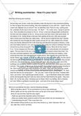 Schreibkompetenz-Training: Writing summaries Preview 8