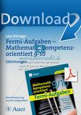 Fermi-Aufgaben - Gleichungen Preview 1