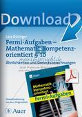 Fermi-Aufgaben - Ähnlichkeiten und Dreiecksberechnungen Preview 1