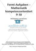 Fermi-Aufgaben - Ähnlichkeiten und Dreiecksberechnungen Preview 2