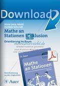 Mathe an Stationen - Inklusion: Orientierung im Raum Preview 1