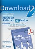 Mathe an Stationen - Inklusion: Geometrie Preview 1
