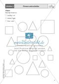 Mathe an Stationen - Inklusion: Geometrie Preview 6