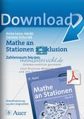 Mathe an Stationen - Inklusion: Zahlenraum bis 100 Preview 1