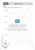 Mathe an Stationen - Inklusion: Größen und Sachrechnen Preview 7